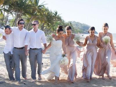 Coral Sea Trinity Beach Wedding Photography